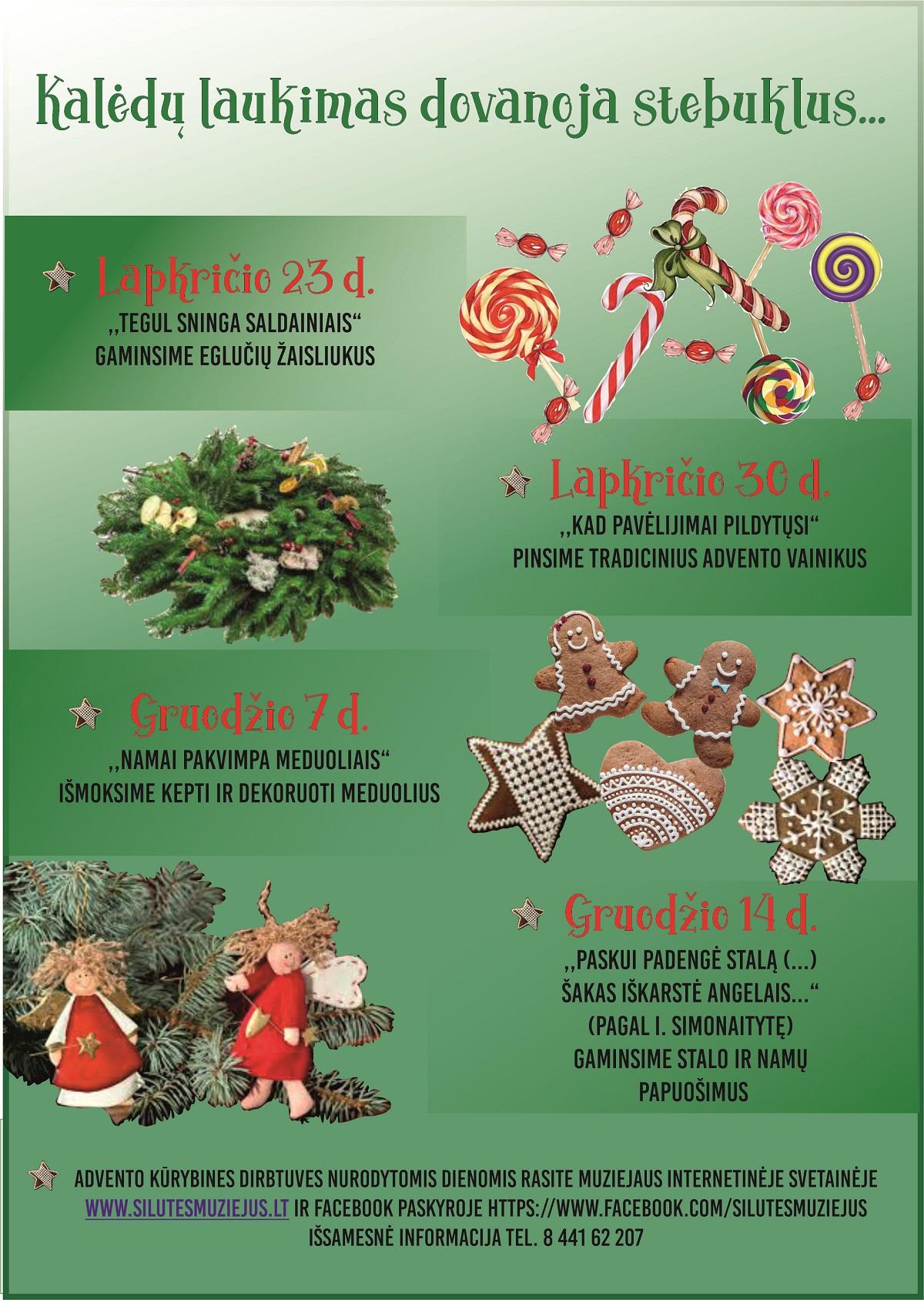 Kalėdų laukimas dovanoja stebuklus…