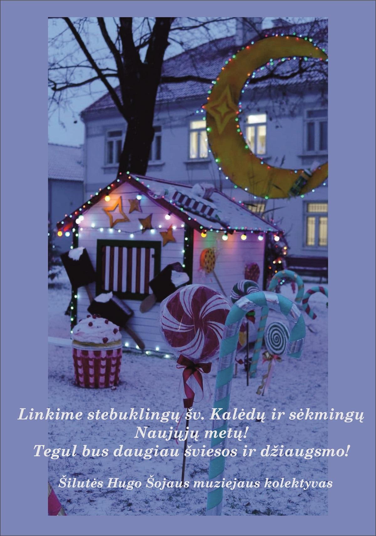 Linkime stebuklingų šv. Kalėdų ir sėkmingų Naujųjų metų!
