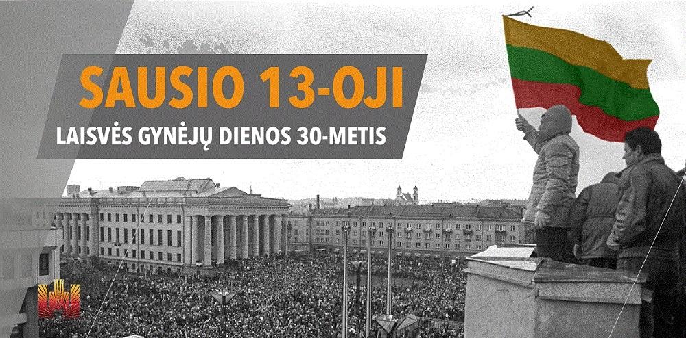 Laisvės gynėjų dienos trisdešimtmečio minėjimo programa