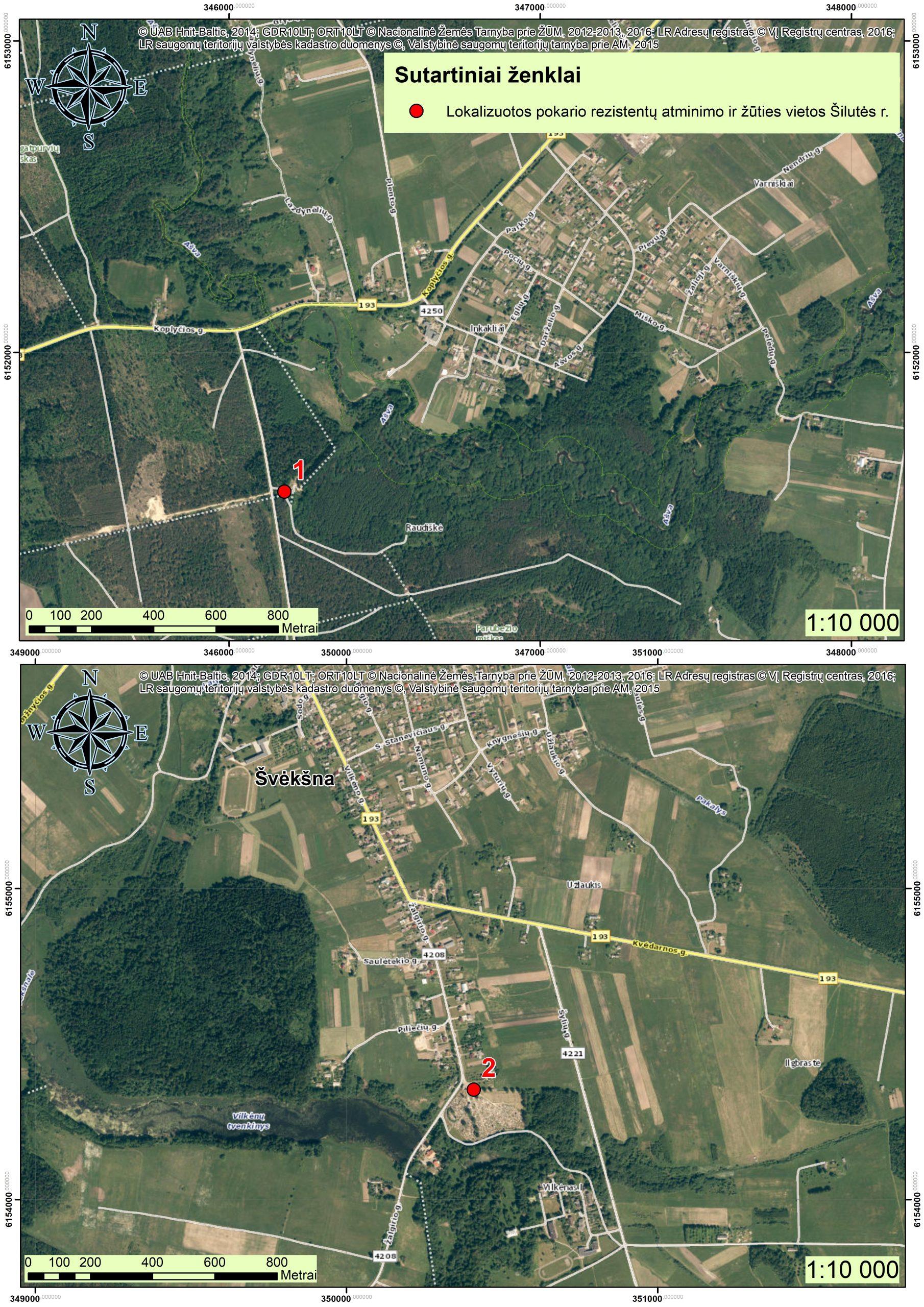 2021 m. Šilutės r., partizanų atminimo vietos GIS03