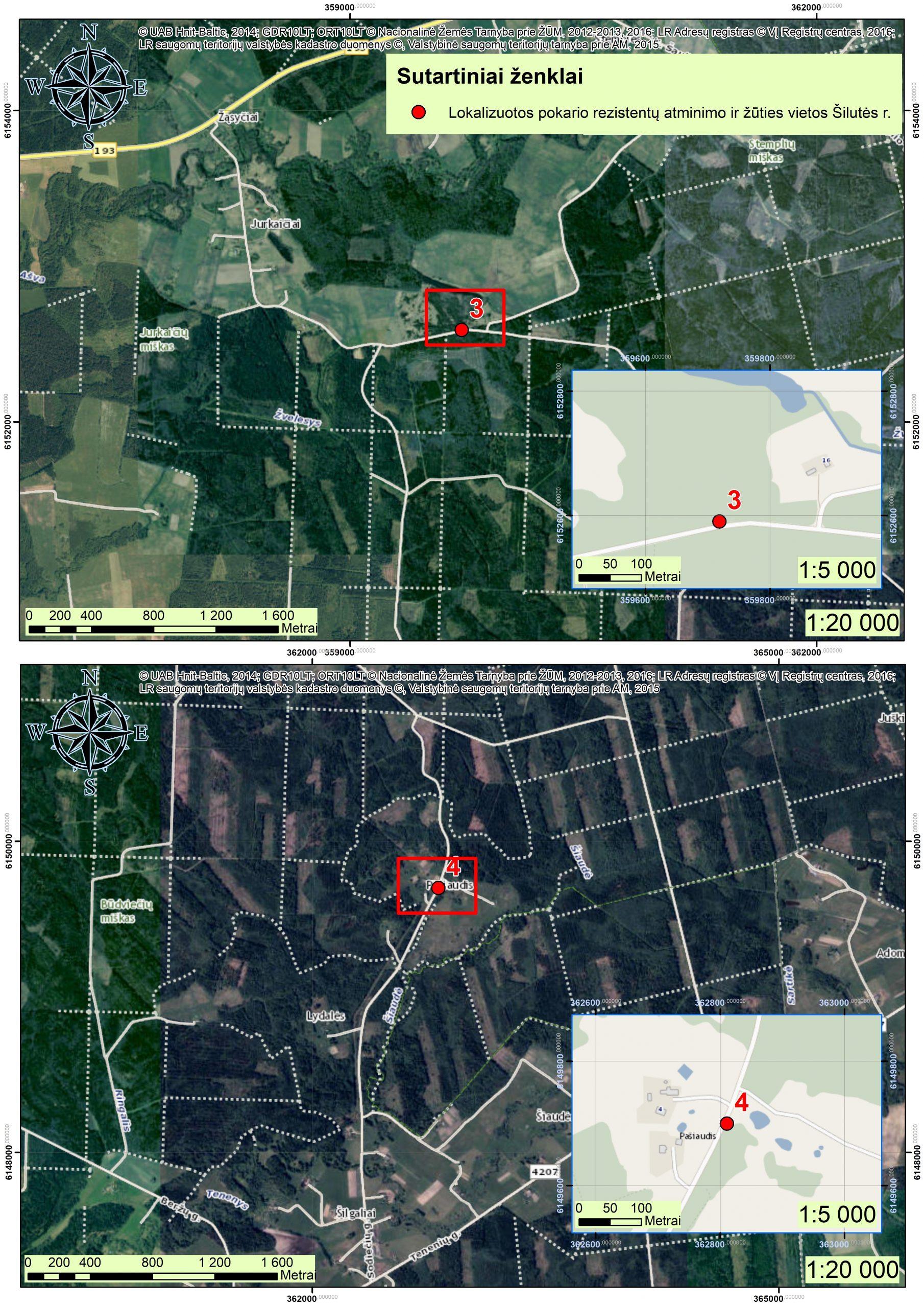 2021 m. Šilutės r., partizanų atminimo vietos GIS04
