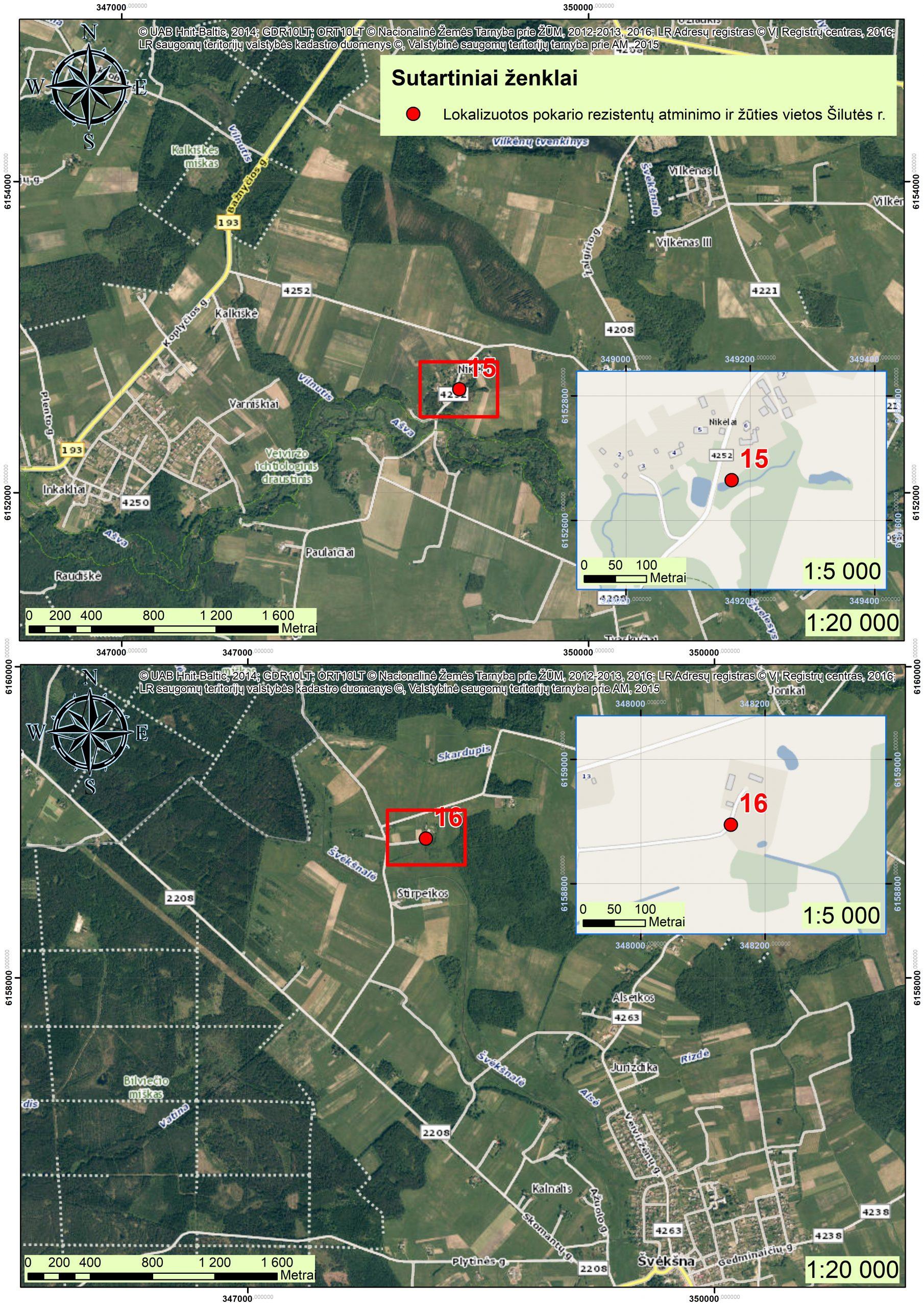 2021 m. Šilutės r., partizanų atminimo vietos GIS10