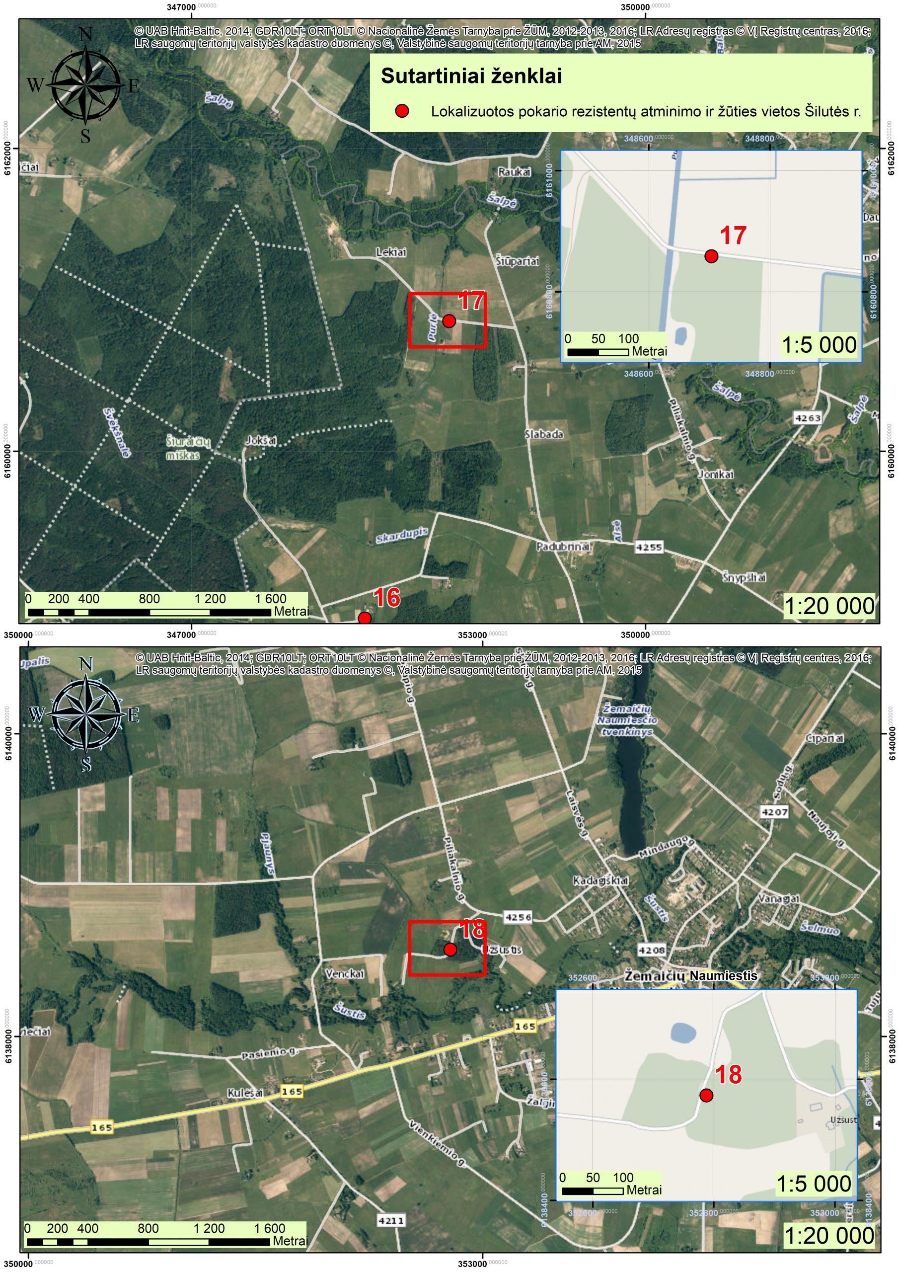 2021 m. Šilutės r., partizanų atminimo vietos GIS11