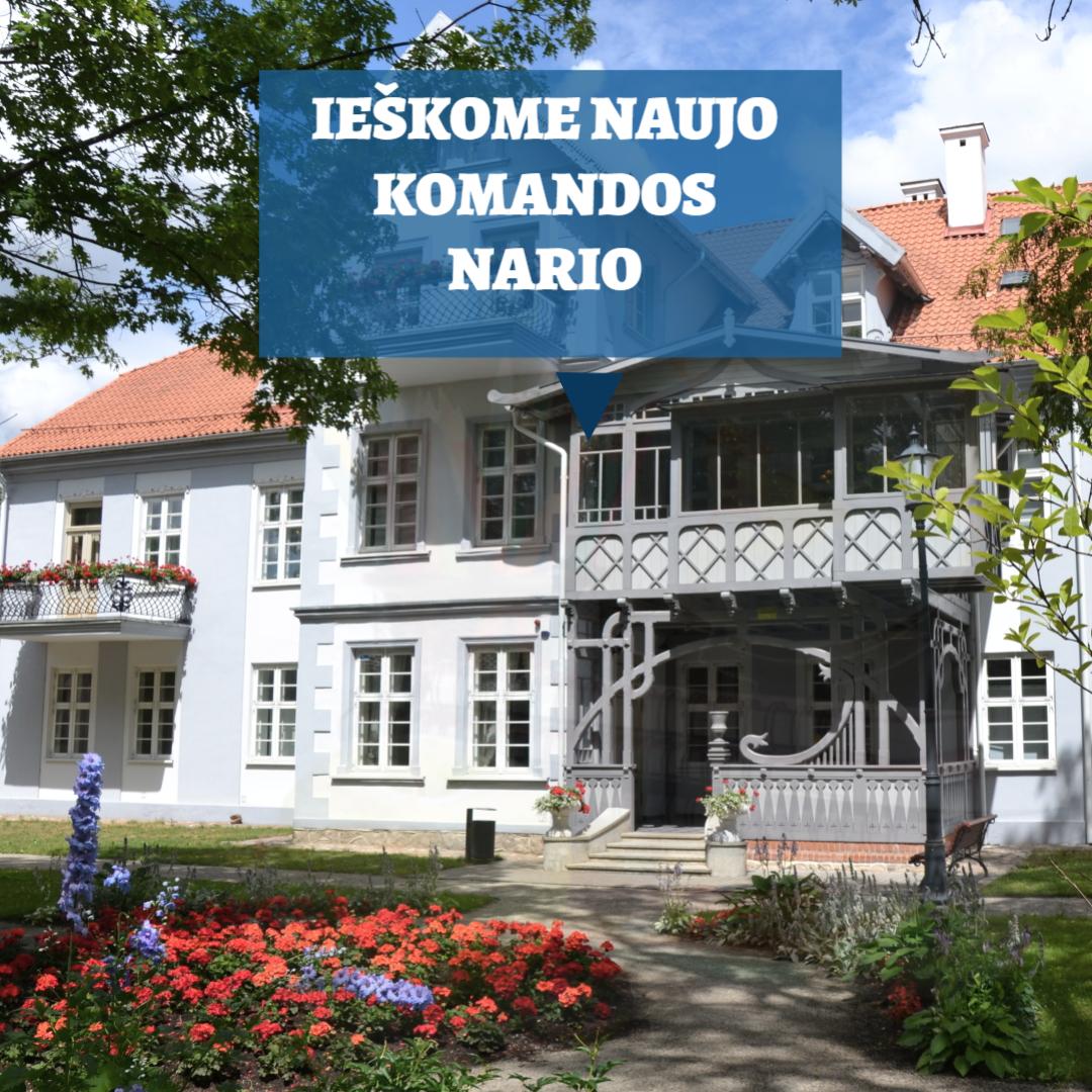 Šilutės Hugo Šojaus muziejus ieško PROJEKTŲ VADOVO –EDUKATORIAUS
